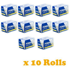10 Rolls FOMAPAN 100 Profi Line Classic Black and White Film 35mm 36exp by FOMA1