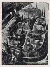 M. PUCHALSKI - ALT- WARSZAWA  Polnische Grafik 1948