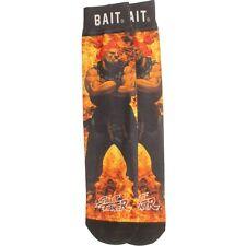 BAIT x Street Fighter Nemesis Socks - Akuma black