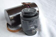 Nikon AF Nikkor 80mm f/2, 8 para f3af, buen estado
