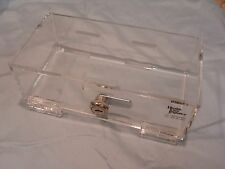 Clear Lockable storage box