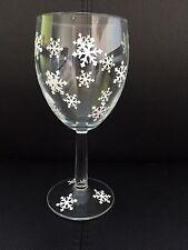 Fiocchi di neve per vino in vetro x 18 Adesivi di Natale TABELLA deoration Finestra Decalcomania