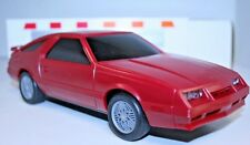 Dealer Promo 1984 Chrysler Laser XE Red 1:20 Made in Korea w/ Box & Decals KB