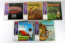 QUICKSILVER M.S. ~ JAPAN MINI LP CD SET OF 5 ALBUMS ~ ORIGINAL, RARE, OOP