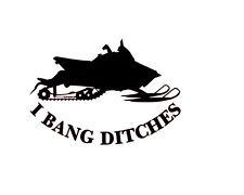I BANG DITCHES POLARIS RUSH PRO R DECAL ARCTICA CAT YAMAHA HONDA KAWASAKI KTM