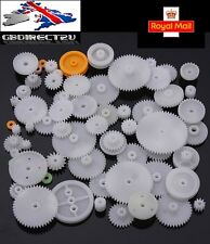 64 Plastic Crown Gear Single Double Reduction Worm Gears NEW 2017 UK