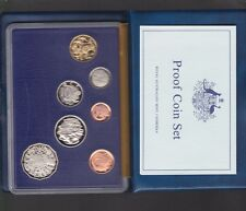 1985 Australia Proof Coin Set in Folder with outer Box & Certificate **