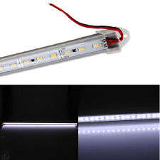 12V 18W 72LED 1800LM 6000k White Light U-Shape Light Bar With Transparent Cover