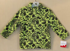 Jumping Beans Toddler Girls/Boys Green Fleece 1/4 Zip Pullover Shirt 2T NWT 1579