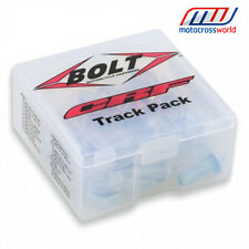 BOLT HARDWARE TRACK PACK FASTENER KIT CRF STYLE HONDA CR 125 250 450 85 500