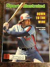 October 6 1980 Gary Carter Montreal Expos Baseball Sports Illustrated Magazine