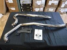 Victory Stage 1 Swept Exhaust System Chrome 2876425-156 Vegas Kingpin High BALL