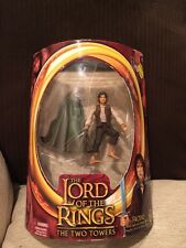 LORD OF THE RINGS LOTR FRODO LIGHT UP STING SWORD ACTION FIGURE RING TOY BIZ