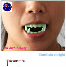 Night Luminous Halloween Costume Party Zombie Vampire Wolf Fangs Tooth Prop