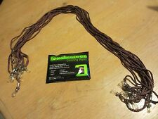 Lot of 12 peeper keepers / Eyeglass Cords Retainers - NEW - Touchscreen Wipes