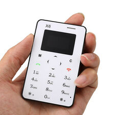 "0.96"" Inch Card Mobile Phone Bluetooth V4.0 Mini Arabic Keyboard Cellphone"
