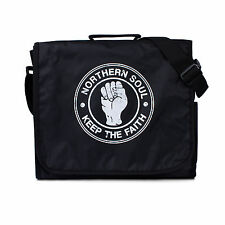 Northern Soul Messenger Bag Mods DJ Shoulder Record School College Cross Body
