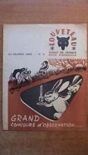 SCOUTISME / REVUE LOUVETEAU N° 4 FEVRIER 1958 - SCOUTS DE FRANCE