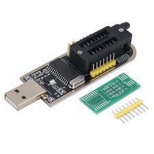 25 SPI Series 24 EEPROM CH341A BIOS Writer Routing LCD Flash USB Programmer SL