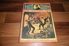 10x  LORD LISTER -- genannt: RAFFLES der GROSSE UNBEKANNTE // Olms Presse 1979