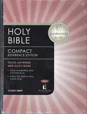 NEW - Holy Bible Compact Reference Edition with Snap-Flap Closure NKJV