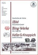 L. Dingwerth: Geschichte d. Schreibmaschinen-Fabriken: IBM, Bing, Orga, Princess