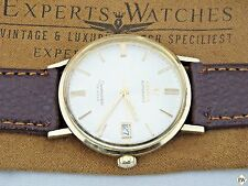 Vintage 1960's Omega Seamaster DeVille Automatic Wristwatch 14K Gold Filled Date