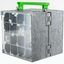 Minecraft Mini Figure Collector Carrying & Display Case & Playset New Loose