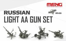1/35 Russian ZPU series AA anti-aircraft guns by MENG ~ SPS-026