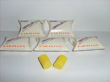BRITISH FORMULA TWO CLASSIC EAR PLUGS 5 PAIRS ( CABOT SAFETY LTD )