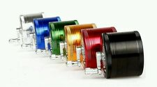 "2"" Inch Alloy Hand Crank 4 PCS Tobacco Spice Herb Grinder Assorted Random Colors"