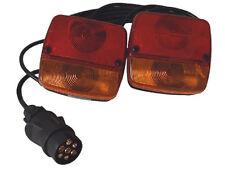 Anhängerbeleuchtung mit 7 poligem Stecker, 1,5m Kabel; HS-020154