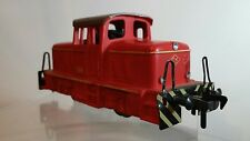 Vintage Fleischmann HO #1306 Red Engine/Switcher