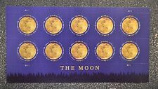 2016USA  Global Forever Rate - The Moon - Sheet of 10  Mint   space  sase