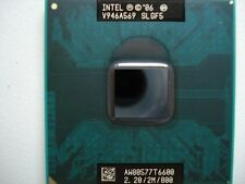 CPU Intel Dual Core DUO Mobile T6600 2.20/2M/800 SLGF5 processore 800mhz 478