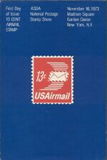 #C79 13c Envelope Air Mail Stamp First Day Ceremony  Program