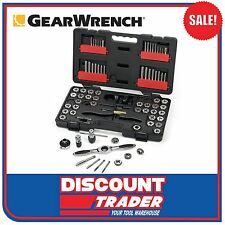 GearWrench Ratcheting Tap and Die 75 Piece Set - Combination SAE / Metric 3887