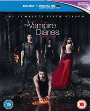 The Vampire Diaries Saison 5 Blu ray Neuf