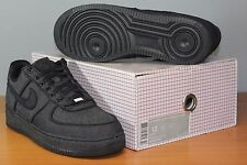 Nike Air Force 1 Low Premium Sz 12 DS Black Denim 520505-090
