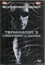 """DVD """"Terminator 3 Le soulèvement des machines""""      NEUF SOUS BLISTER"""