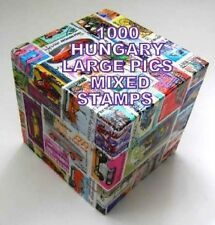 1000 HUNGARY (LARGE PICT)  MIXED STAMPS USED OFF PAPER