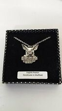 A33 Pig english pewter 3D Platinum Necklace Handmade 18 INCH