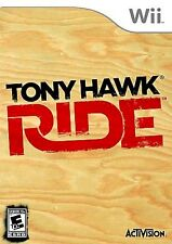 Wii Tony Hawk RIDE Video GAME DISC ONLY sony skateboard sports nintendo COMPLETE