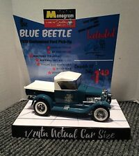 MONOGRAM THE BLUE BEETLE FORD TRUCK HOT ROD MODEL KIT STORE DISPLAY BASE ONLY