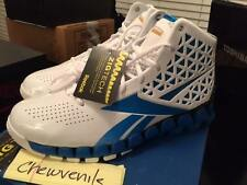 Reebok ZIGTECH Zig Slash White Gold Blue John Wall 10 Encore