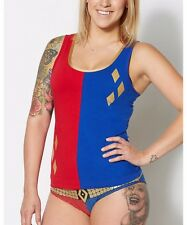 Suicide Squad Harley Quinn Tank Panty Set Large Licensed Exclusive  03045259