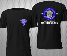 MASSACHUSETTS STATE POLICE T SHIRT S-4XL