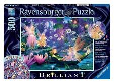 RAVENSBURGER JIGSAW PUZZLE THE FAIRY FOREST STEVE READ 500 PCS #14882