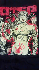 OTEP Kill 'Em All Signed Autograph T Shirt Size Large