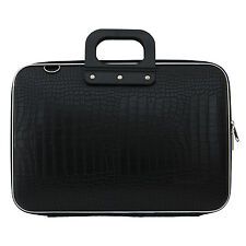 "Bombata - Black Cocco 15.6"" Laptop Case/Bag with Shoulder Strap"